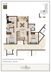 Srivari Ananyaa Project - Floor Plan
