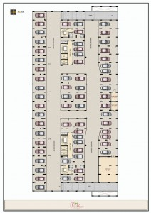 Srivari - Vaibhav Commercial Basement Floor Plan