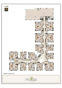 Srivari Ananyaa Project - Third Floor Plan