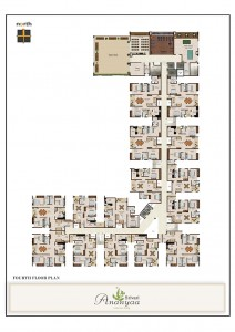 Srivari Ananyaa Project - Fourth Floor Plan