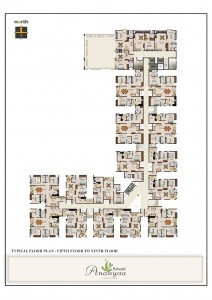 Srivari Ananyaa Project - Floor Plans Fifth to Ninth