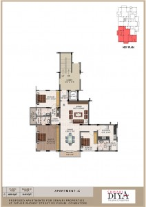 Srivari Diya - Apartment Plan