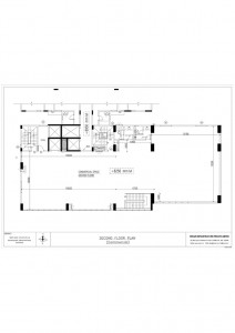 Ananyaa commercial second floor plan